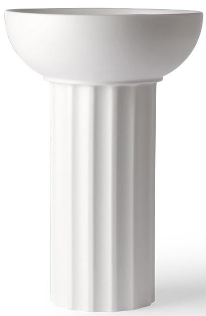 Vaas ceramic greek A 21x32cm White-1