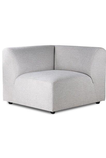 Bank jax couch: element left, sneak, light grey