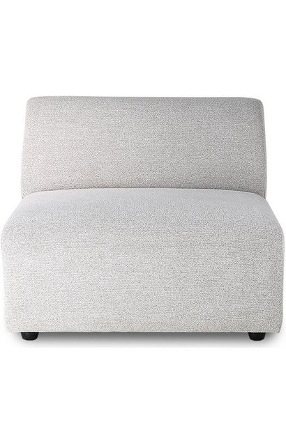 Bank jax couch: element middle, sneak, light grey