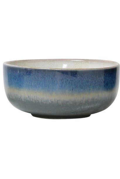 Kom ceramic 70's bowl medium: ocean