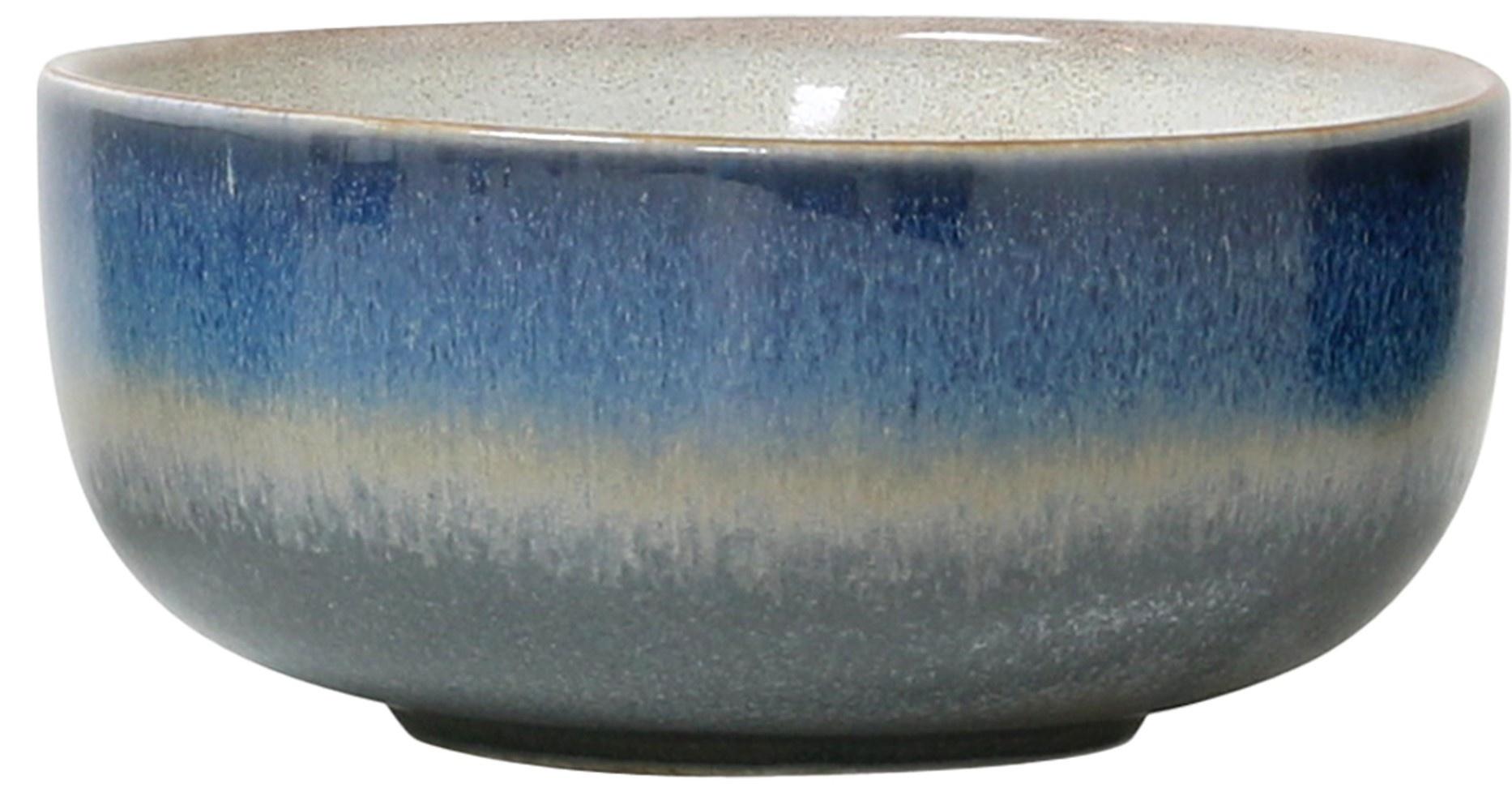 Kom ceramic 70's bowl medium: ocean-1