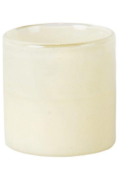 Waxinehouder Mist 8cm Off White