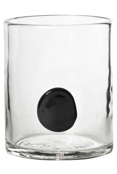 Glas Sienna 10x9cm Black
