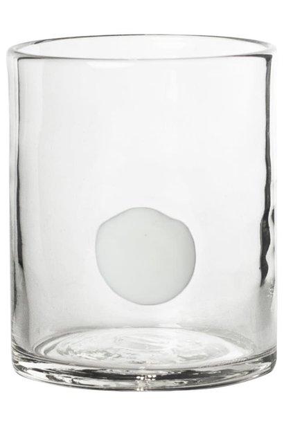 Glas Sienna 10x9cm White