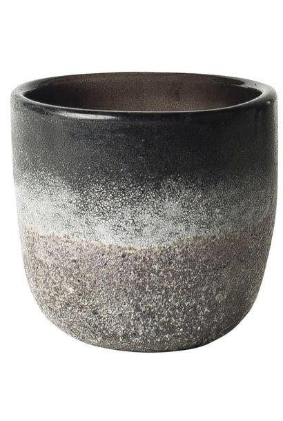 Pot Sober S 10x12cm Brown