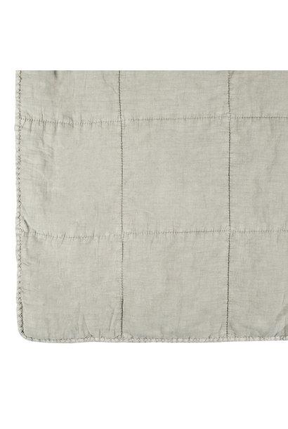 Deken Quilt cotton 180x260 Grey
