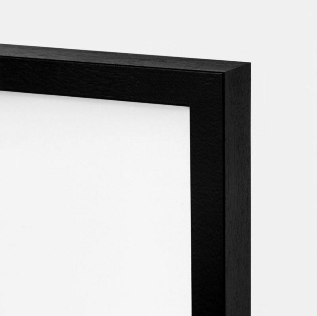 Fotolijst hout zwart - A4 / 21X30cm-2