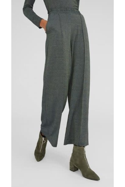 Broek Annina metallic Green