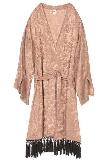 Vest Kimono lang Blush