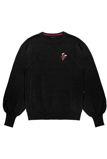 Trui Fine knitted Black