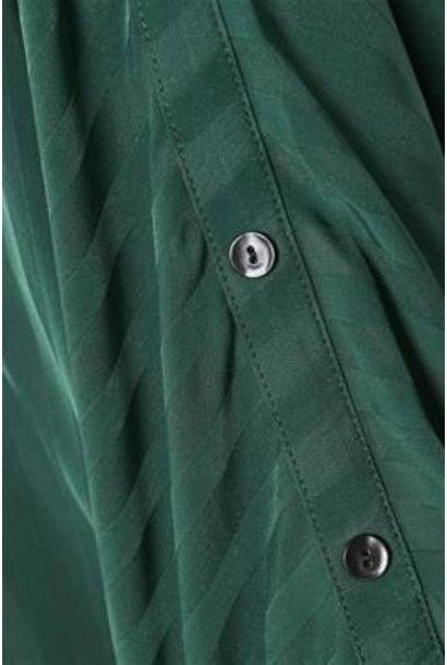 Blouse Laia Satin Chiffon Stripe green june bug