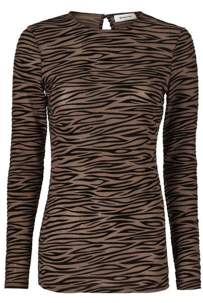 Top Vegas Brown Zebra