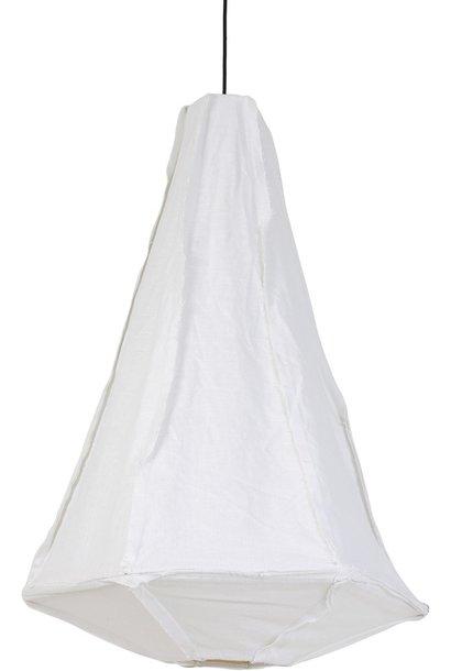 Hanglamp Torch Ø60x95cm Wit