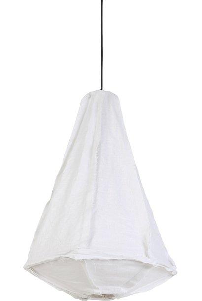 Hanglamp Torch Ø40X64cm Wit