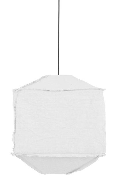 Hanglamp Titan Ø50x60cm Wit