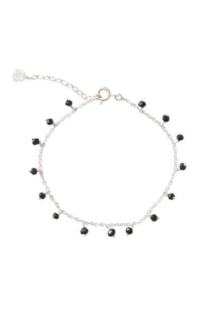 Armband Fine Onyx Sterling Silver Black