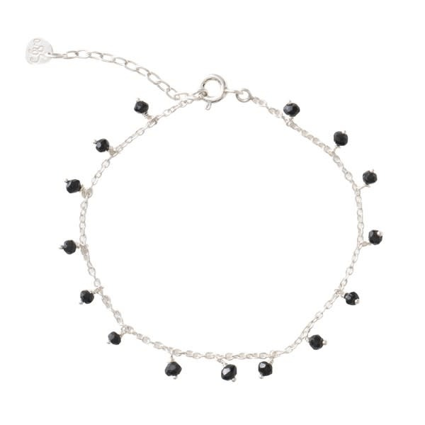 Armband Fine Onyx Sterling Silver Black-1