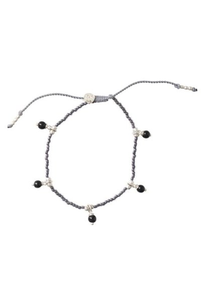 Armband Dreamy Onyx Silver Black