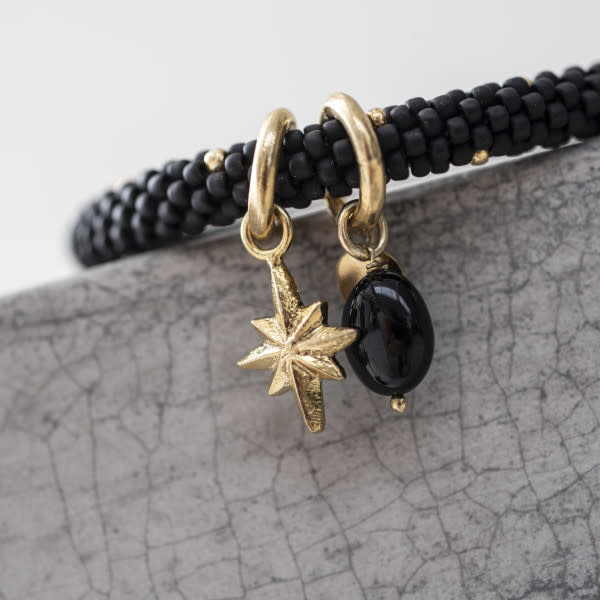 Armband Jacky multi Gold Black-2