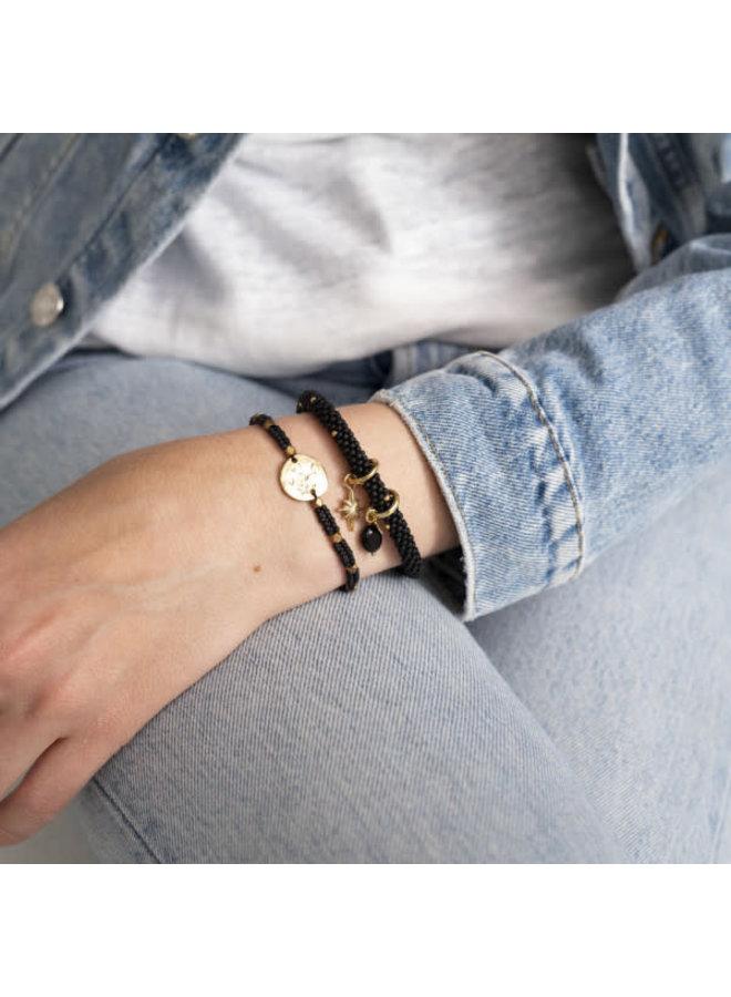 Armband Jacky multi Gold Black