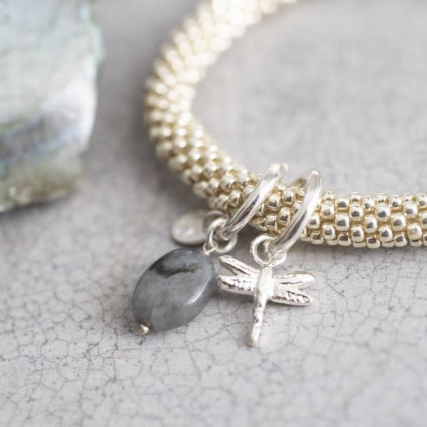 Armband Jacky Labradorite Dragonfly Silver-3