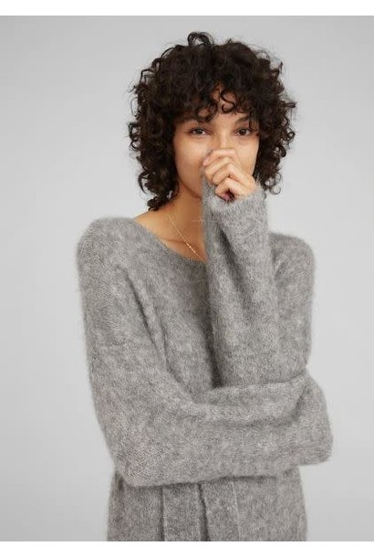 Jurk Isac knit Grey