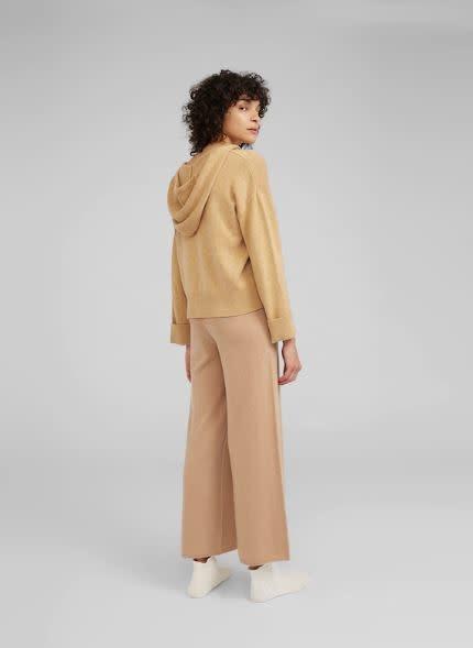 Pullover capuchon Camel-2