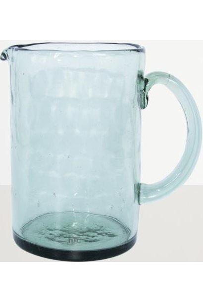 Schenkkan Recycled glass Ø10x15cm Ocean