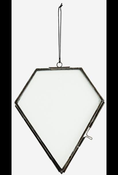 Fotolijst hang glass 14x17cm Black
