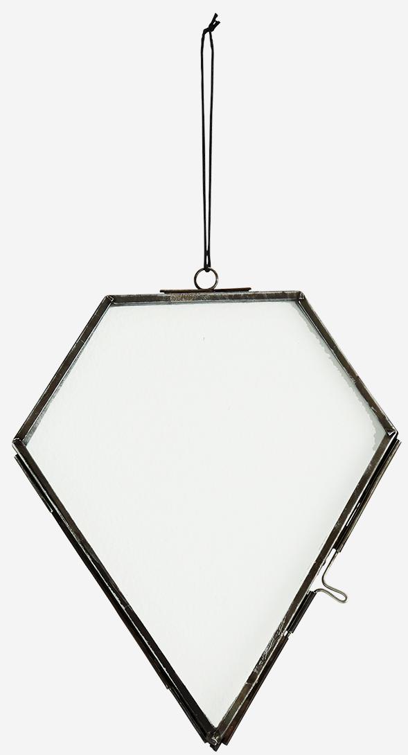Fotolijst hang glass 14x17cm Black-1