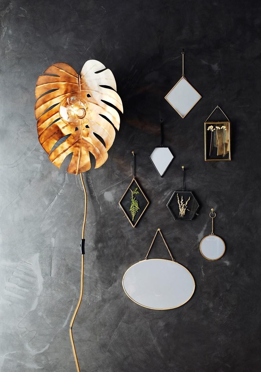 Fotolijst hang glass 13x8cm brass Gold-2