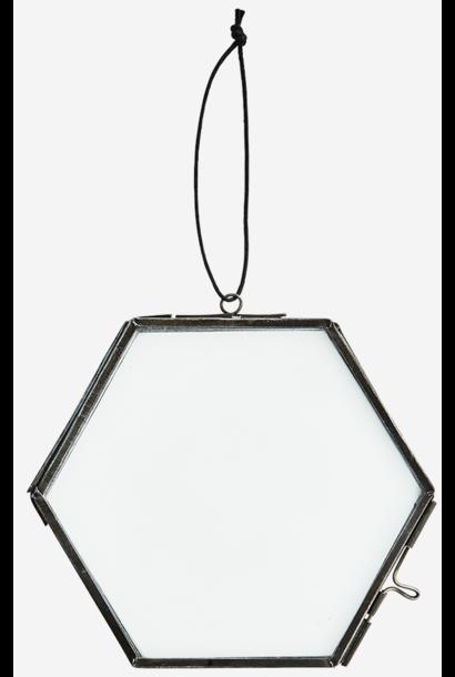 Fotolijst hang glass 13x12cm Black