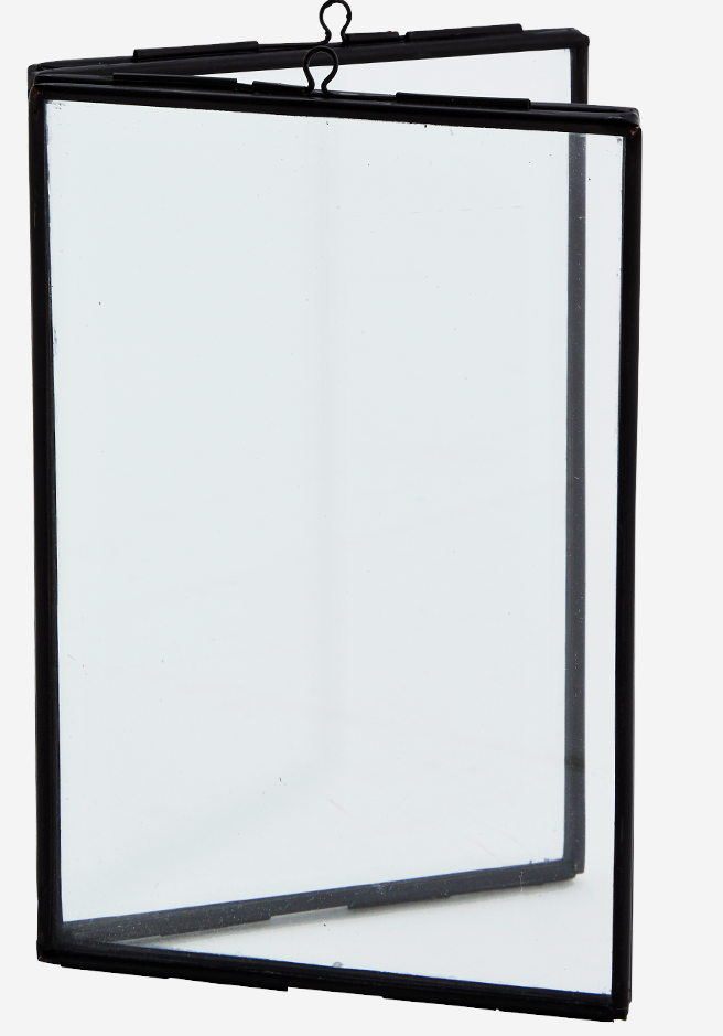 Fotolijst standing double 10x15cm Black-1