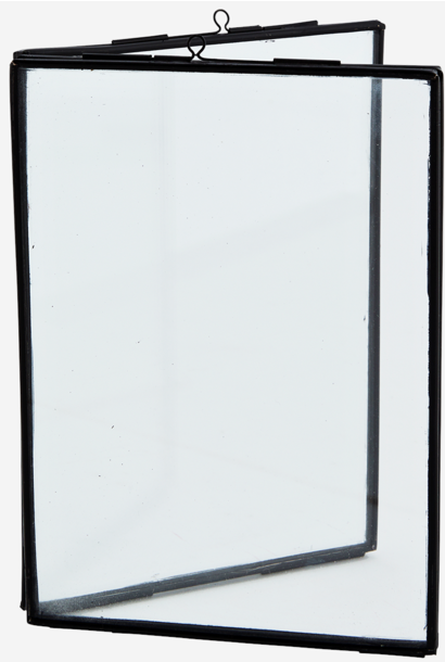 Fotolijst standing double 13x18cm Black