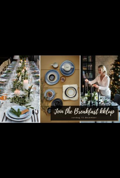 UITVERKOCHT Kaart Breakfast kklup - 15 december