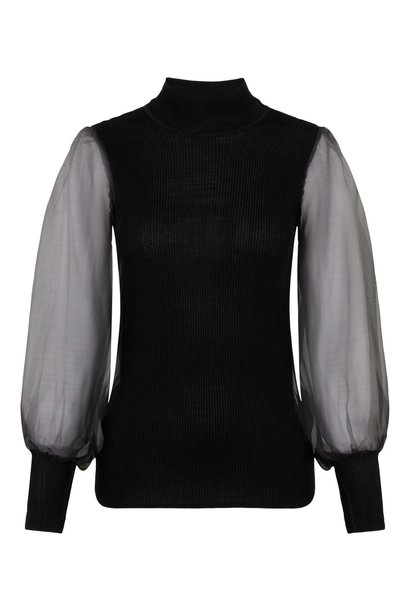 Trui Yasmelanie Knit Black
