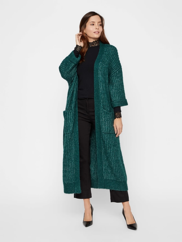 Vest Yassunday Long knit Pine-3