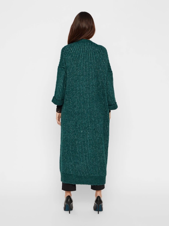 Vest Yassunday Long knit Pine-4