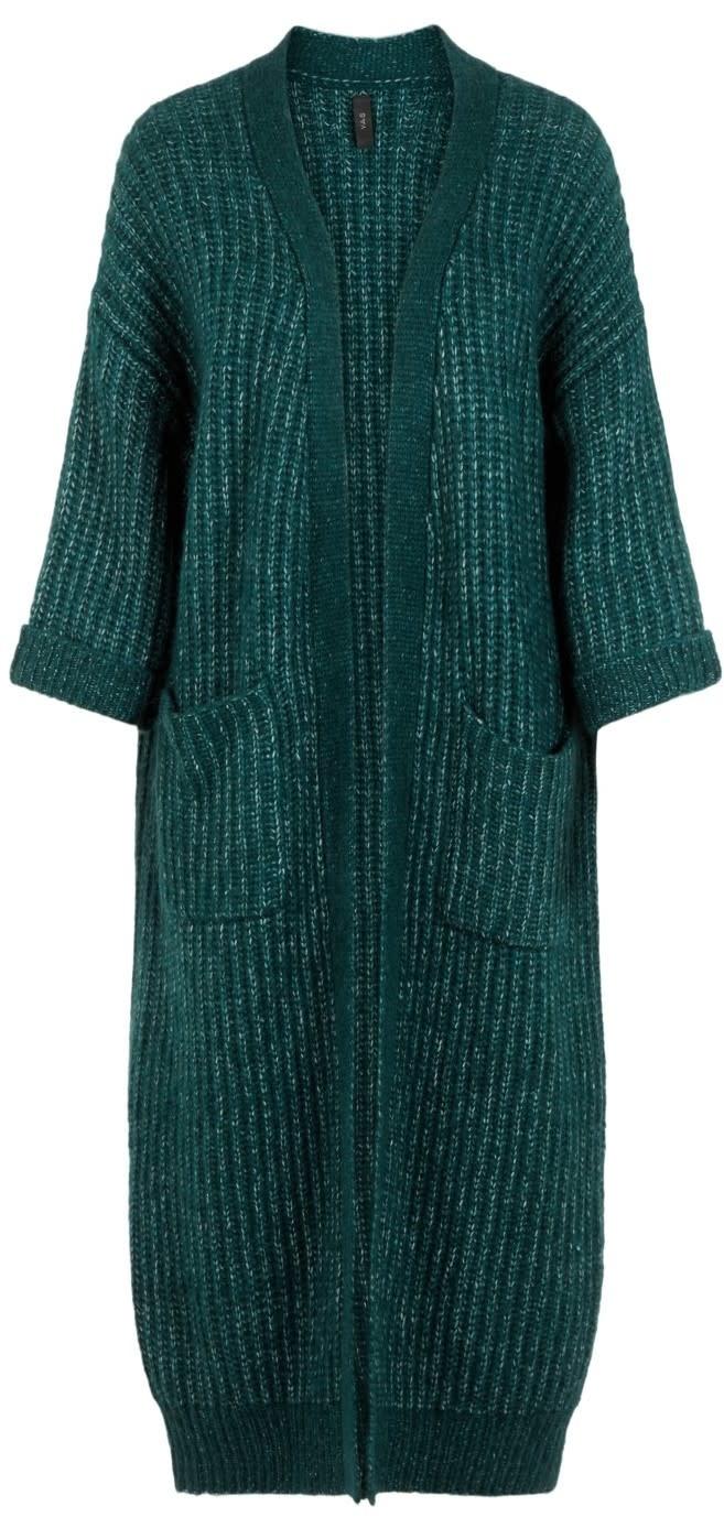 Vest Yassunday Long knit Pine-1