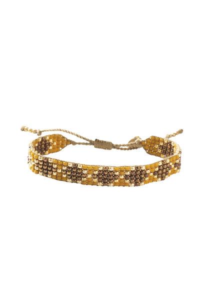 Armband Breezy Tiger Eye Gold
