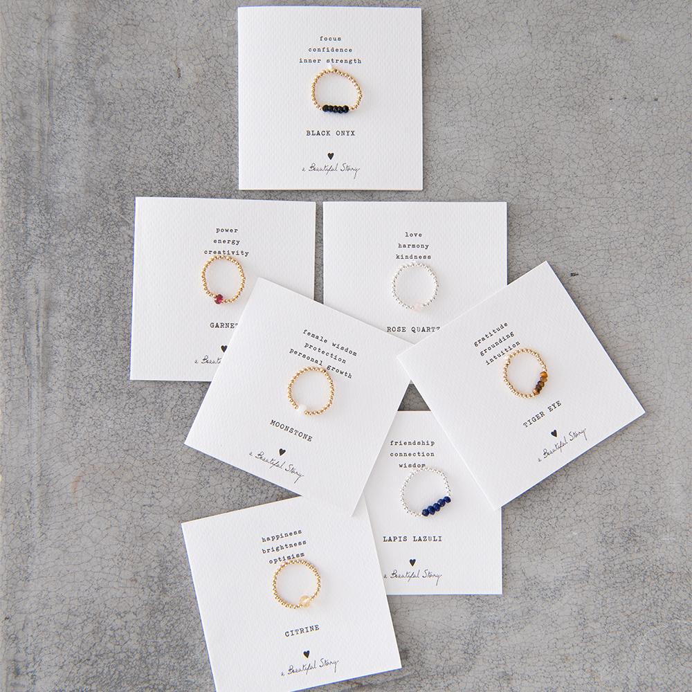 Ring Beauty Labradorite M/L Silver-3