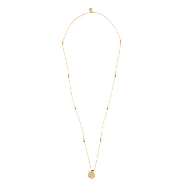 Ketting Truly Citrine Shell Gold-1
