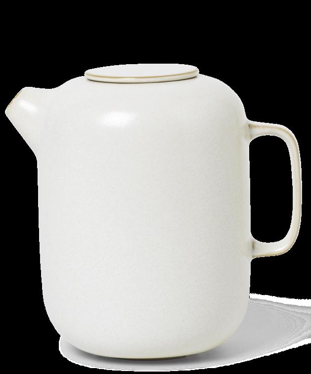 Koffiepot Sekki 11x15cm Cream-1