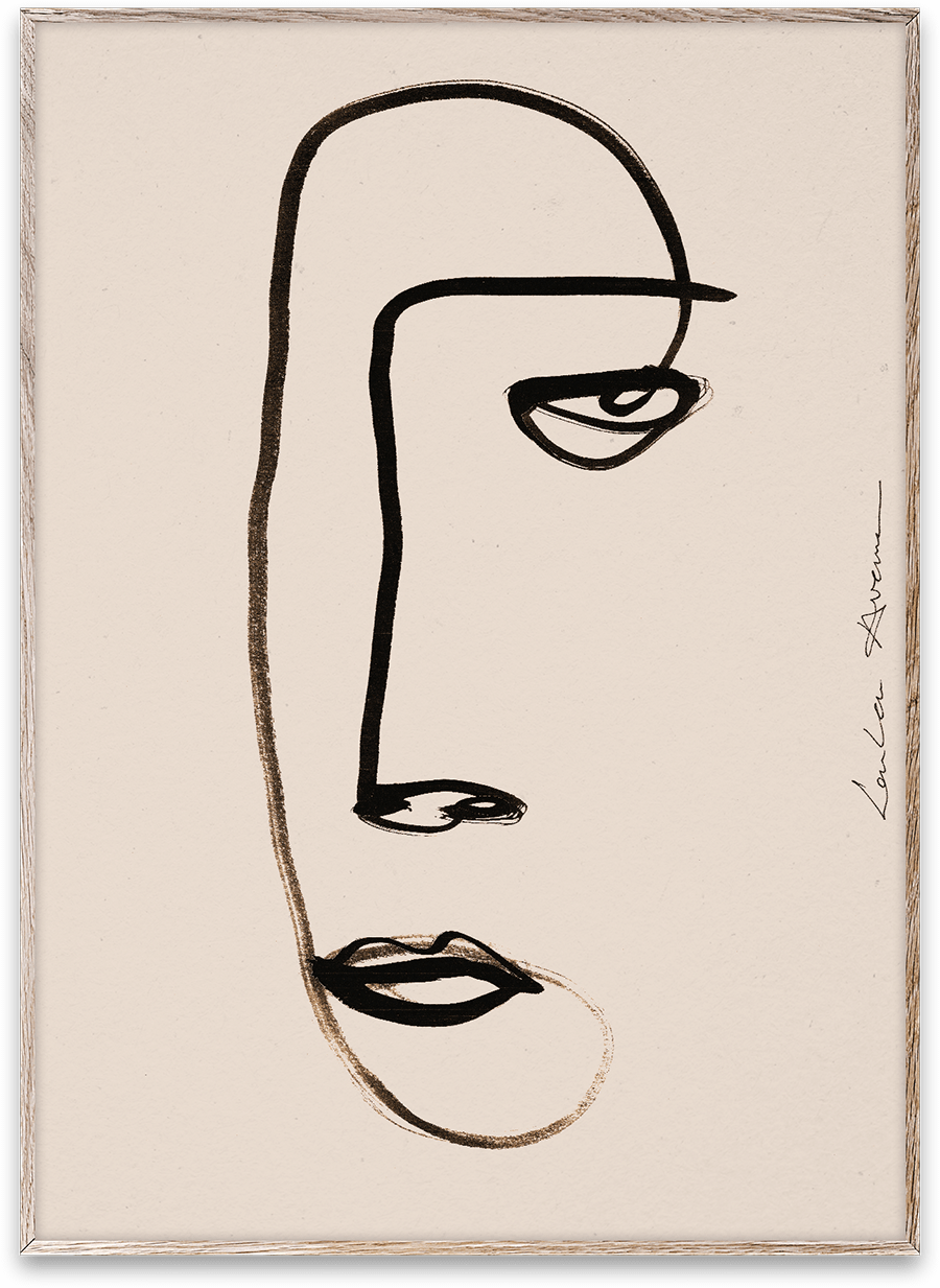 Poster Serious Dreamer 50x70cm-1