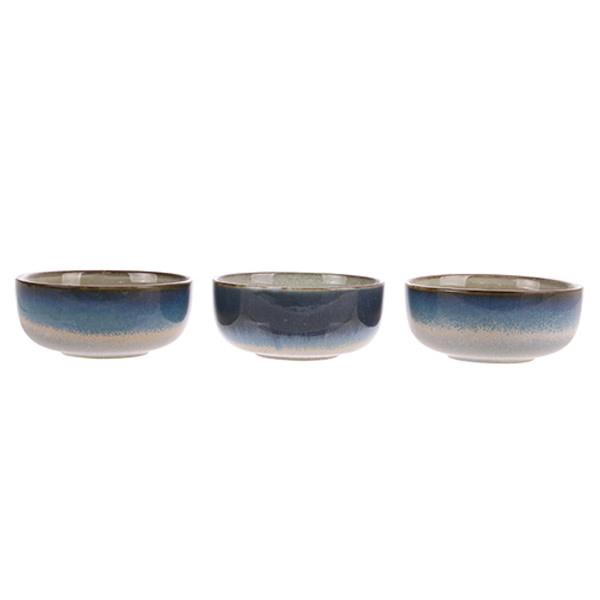 Kom ceramic 70's bowl medium: ocean-4