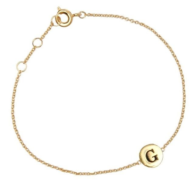Armband Character Letter G Gold-2
