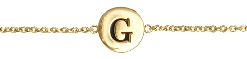 Armband Character Letter G Gold-1