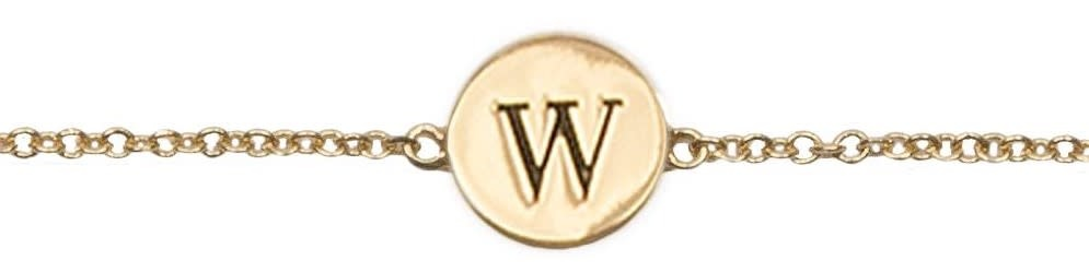 Armband Character Letter W Gold-1