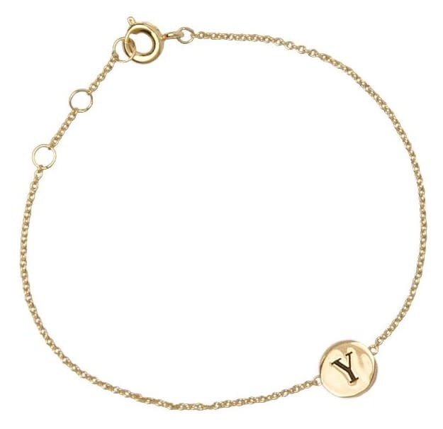 Armband Character Letter Y Gold-2