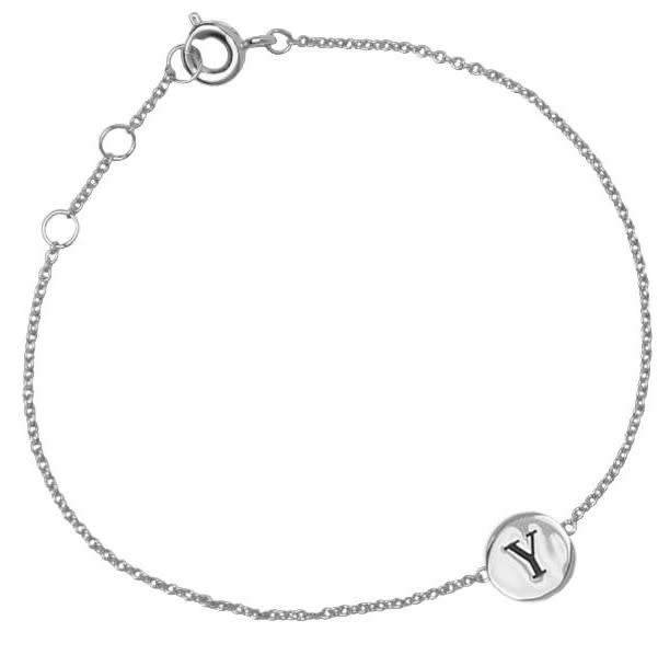 Armband Character Letter Y Silver-2